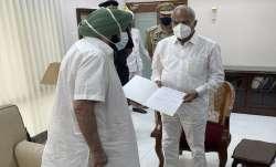 Captain Amarinder Singh resigns as Punjab CM.