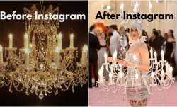 Before and after Instagram memes