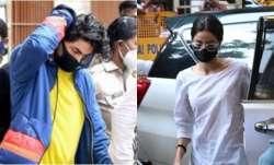 Ananya Panday reaches NCB office interrogation