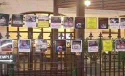 Kolkata, kolkata ISKCON, ISKCON, posters, Bangladesh communal violence, latest news updates, hindu t