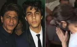 Shah Rukh Khan meets son Aryan in jail