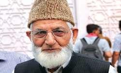 syed ali shah geelani grandson sacked
