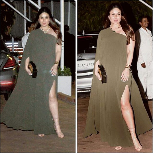 48d4452ceddbb Bebo swept the limelight during her aunt Rima Jain's birthday party. The  actress was seen