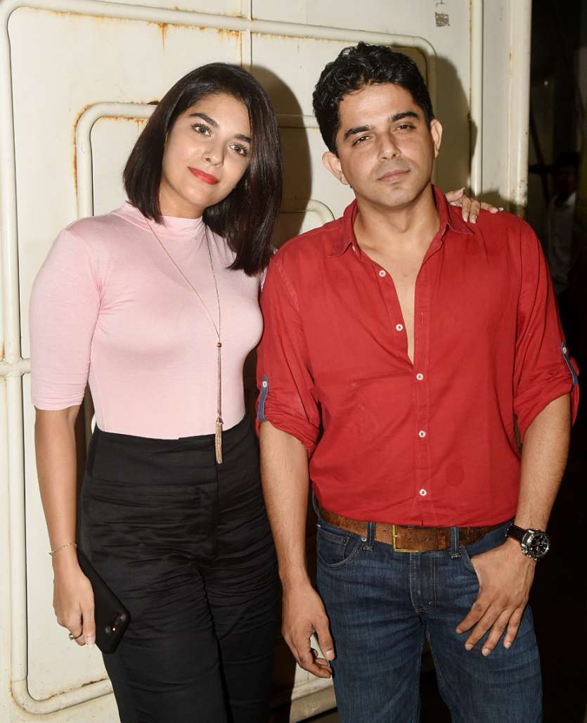 Lovebirds Puja Gaur and Raj Singh Arora also arrived to extend their support to friend Kritika Kamra
