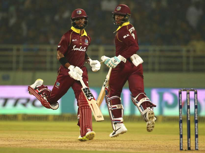 A 143-run partnership ensued between Hetmyer and Shai Hope for the fourth wicket as the duo took calculated risks.