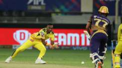 Dwayne Bravo in IPL 2021 Final