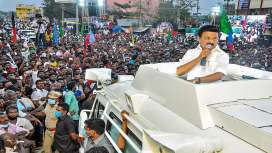 DMK chief Stalin to be sworn-in as Tamil Nadu CM on May 7