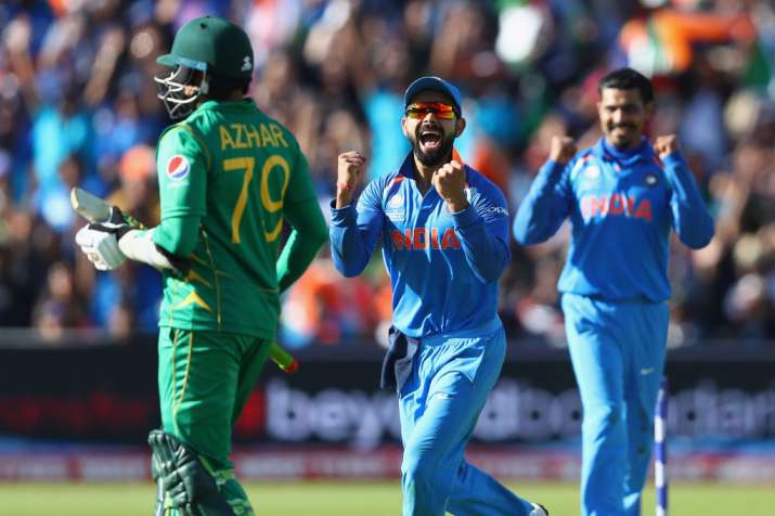 India last faced Pakistan in the ICC Champions Trophy