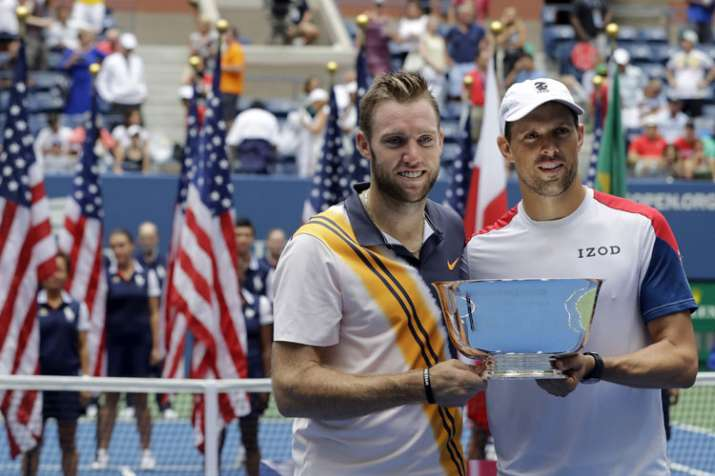 Mike Bryan, Jack Sock win US Open, but remain a temporary team
