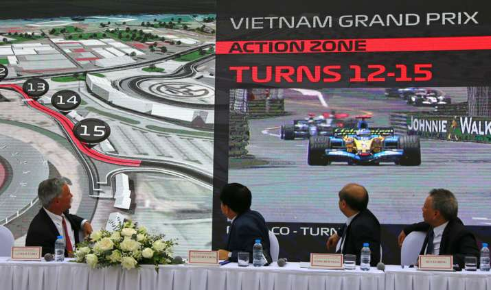 Hanoi GP set to join Formula One circuit in 2020
