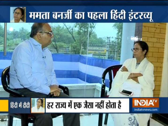 Mamata Banerjee to India TV in an Exclusive Interview