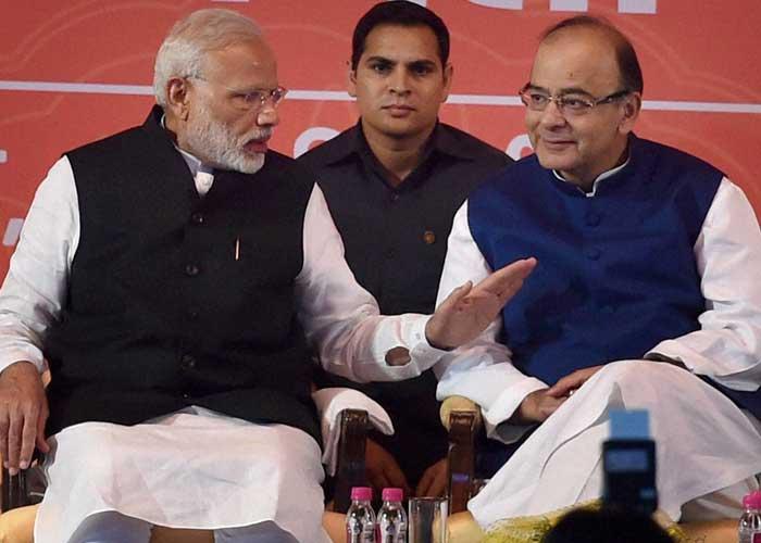 PM Modi and Arun Jaitley
