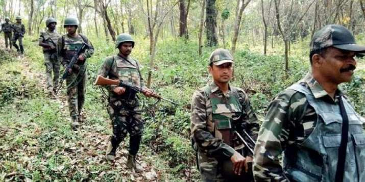 Naxals encounter with security forces
