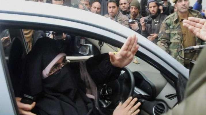 Kashmiri Separatist leader Asiya Andriba
