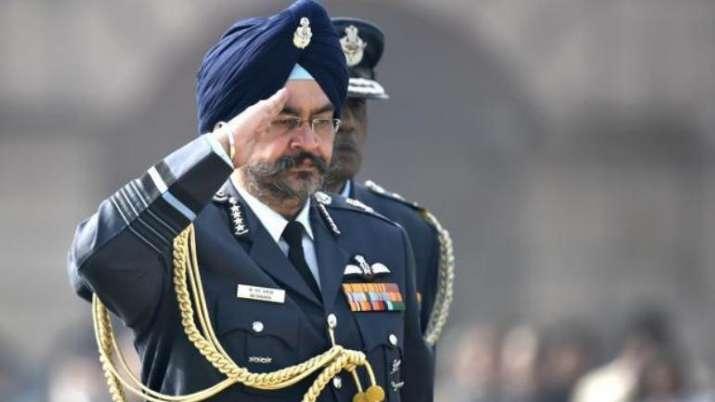 IAF chief BS Dhanoa