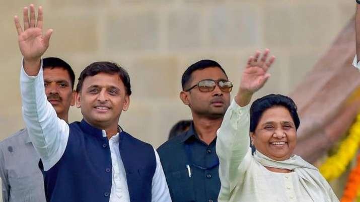 Akhilesh Yadav and Mayawati