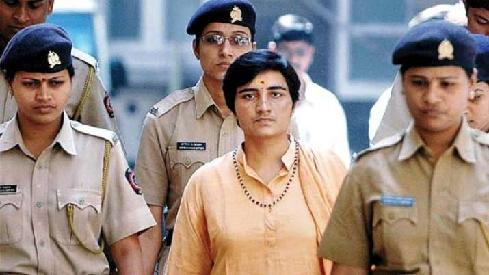 Malegaon blast accused Pragya Sadhvi appears before NIA
