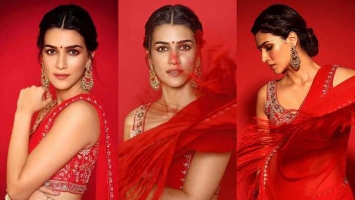 Kriti Sanon's latest saree look is 'THE' inspiration you