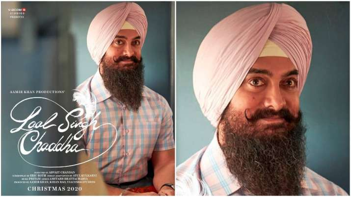 Laal Singh Chaddha First Poster:Laal Singh Chaddha First Look Aamir Khan Poster Kareena Kapoor Take