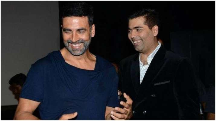 Karan Johar calls Akshay Kumar 'rare' movie star who supports first-time directors