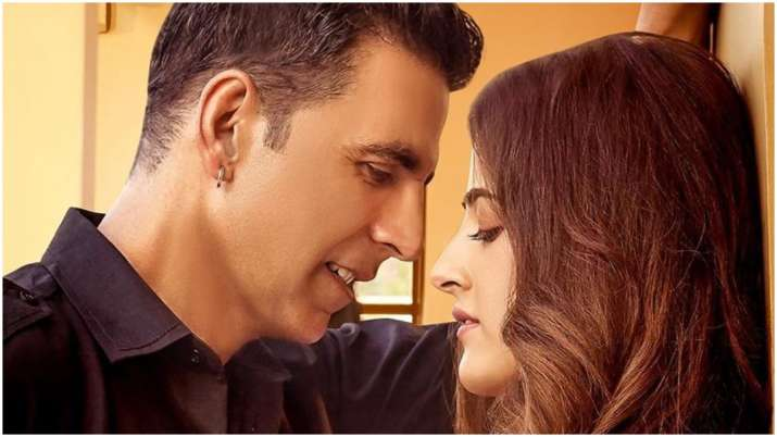 Filhall poster: Akshay Kumar shares first look with Nupur Sanon for his first music video