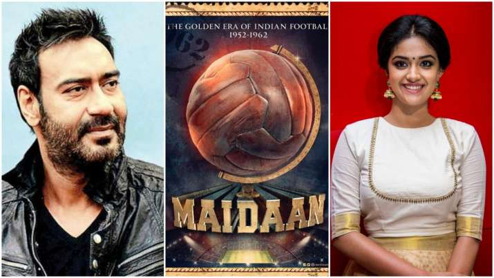Maidaan: Ajay Devgn, Keerthy Suresh starrer sports drama finally gets a release date
