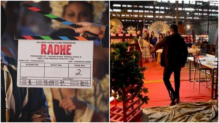 Radhe aka Salman Khan's 'swag wali entry' on first day of shoot is unmissable. Watch video