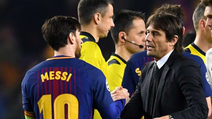 We're talking about fantasy football: Inter Milan manager Antonio Conte rubbishes Lionel Messi talks