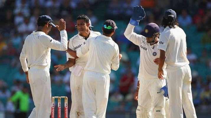 anil kumble, anil kumble india, india tour of australia 2008, india vs australia sydney test, sydney