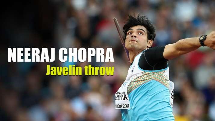 India's Neeraj Chopra
